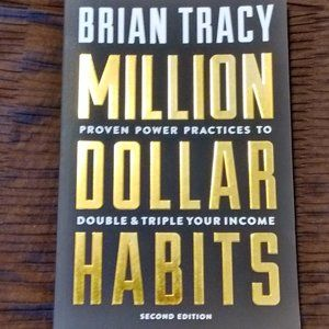 Unused - Million Dollar Habits by Brian Tracy Book